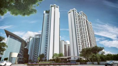 Gallery Cover Image of 1057 Sq.ft 2 BHK Apartment for buy in Goel Ganga Legend B2, Bavdhan for 7000000