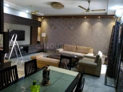 Gallery Cover Image of 1400 Sq.ft 3 BHK Apartment for rent in Dhakuria for 45000