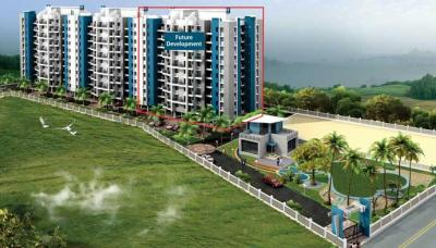 Gallery Cover Image of 925 Sq.ft 1 BHK Apartment for rent in Dreams Wisteria, Undri for 8500