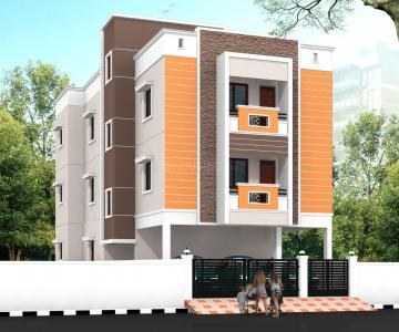 Gallery Cover Image of 1350 Sq.ft 3 BHK Apartment for buy in Madhanandapuram for 6480000
