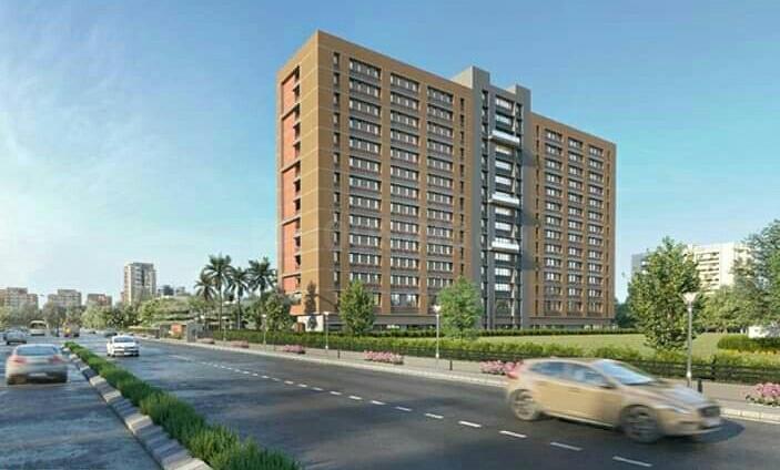Building Image of 455 Sq.ft 1 RK Apartment for buy in Shilaj for 1400000
