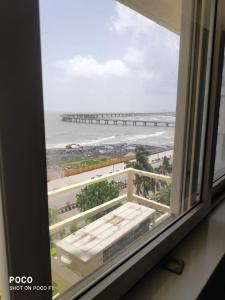 Balcony Image of 1300 Sq.ft 3 BHK Apartment for buy in Worli for 100000000