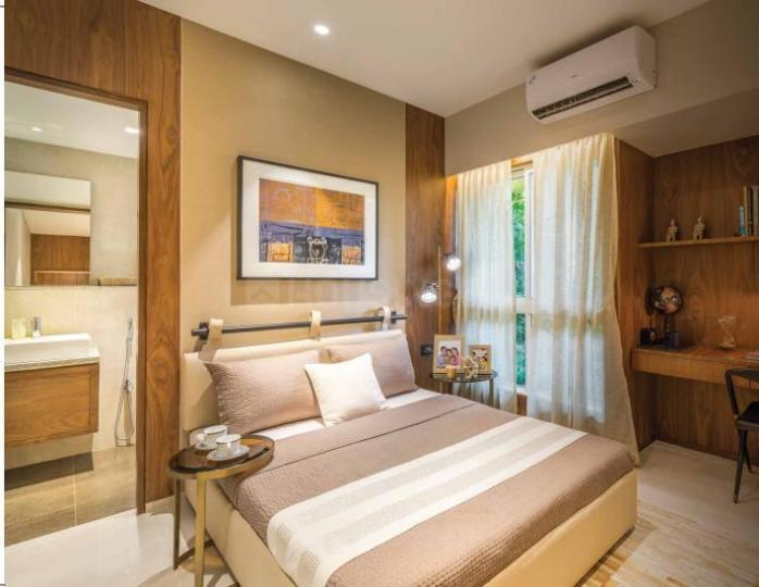 Bedroom Image of 605 Sq.ft 2 BHK Apartment for buy in Lodha Quality Home Tower 7, Thane West for 7500000