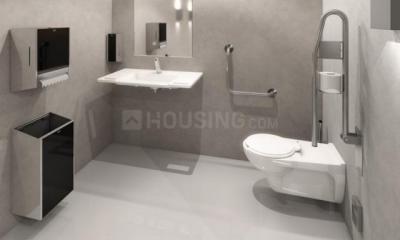 Bathroom Image of Twin Sharing PG In Thane Majiwada Ynh in Thane West