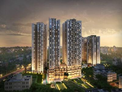 Gallery Cover Image of 1507 Sq.ft 4 BHK Apartment for buy in Ozone, Rajpur Sonarpur for 14500000