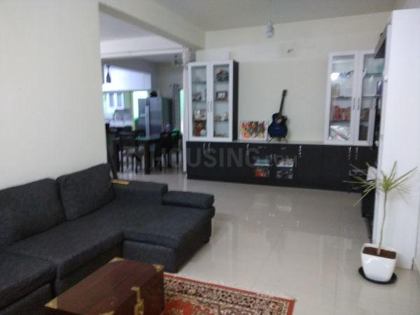 Living Room Image of 1600 Sq.ft 3 BHK Apartment for buy in Thyvakanahally for 6500000