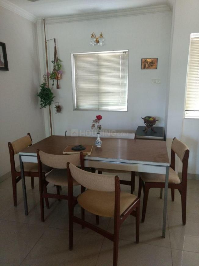 Dining Area Image of 1650 Sq.ft 3 BHK Apartment for rent in Wanowrie for 35000