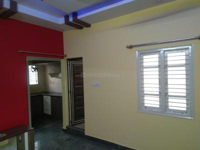 Gallery Cover Image of 650 Sq.ft 1 BHK Independent House for rent in Mangammanapalya for 11000