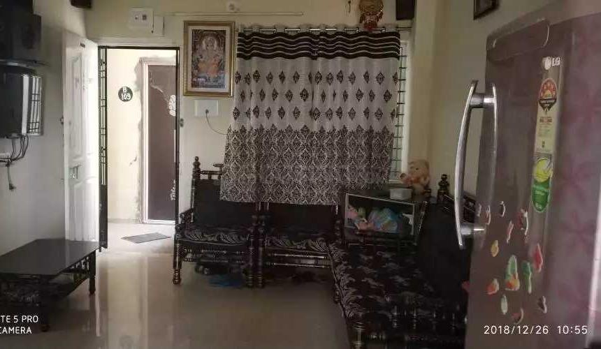 Living Room Image of 800 Sq.ft 2 BHK Apartment for buy in Kalali for 1650000