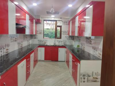 Kitchen Image of 2600 Sq.ft 4 BHK Independent Floor for buy in Sector 55 for 13800000