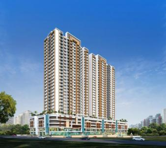 Gallery Cover Image of 563 Sq.ft 1 BHK Apartment for buy in Mahaavir Pride, Dombivli East for 4600000