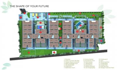 Gallery Cover Image of 1345 Sq.ft 3 BHK Apartment for buy in Disha Courtyard, Whitefield for 7100000