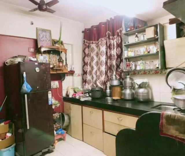 Kitchen Image of 225 Sq.ft 1 RK Apartment for rent in Borivali West for 13000