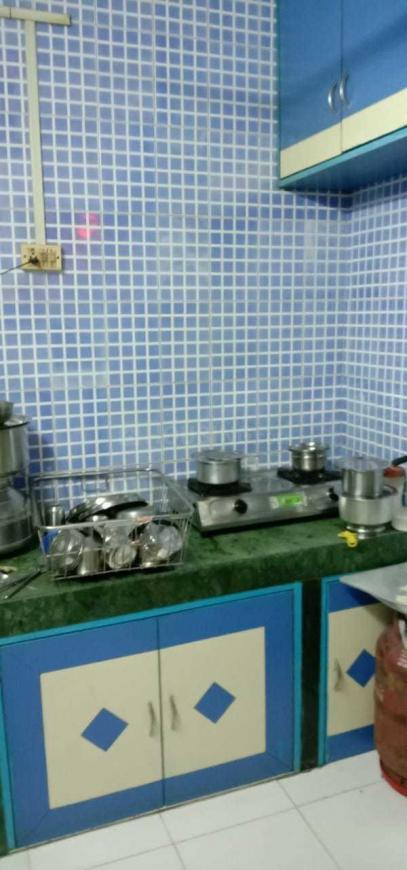 Kitchen Image of 1100 Sq.ft 2 BHK Apartment for rent in Greater Khanda for 15000