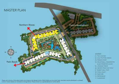 Gallery Cover Image of 1490 Sq.ft 3 BHK Apartment for buy in Purva Palm Beach, Kvalasanahalli for 9800000