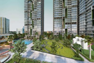 Gallery Cover Image of 1254 Sq.ft 3 BHK Apartment for buy in TATA Serein Phase 1, Thane West for 18800000
