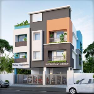 Gallery Cover Image of 545 Sq.ft 1 BHK Apartment for buy in Iyyappanthangal for 3052000