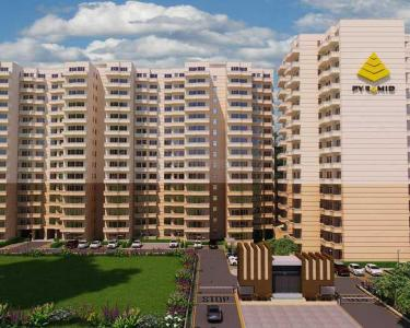 Gallery Cover Image of 1000 Sq.ft 3 BHK Apartment for buy in Pyramid Altia, Sector 70A for 2950000