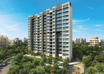 Gallery Cover Image of 1123 Sq.ft 3 BHK Apartment for rent in Primus Residences, Santacruz East for 75000