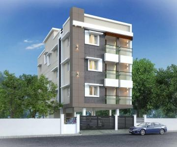 Gallery Cover Image of 1048 Sq.ft 2 BHK Apartment for buy in Velachery for 7755000