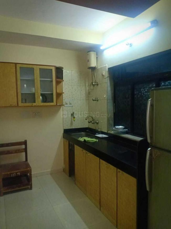 Kitchen Image of 580 Sq.ft 1 BHK Apartment for rent in Borivali West for 18000