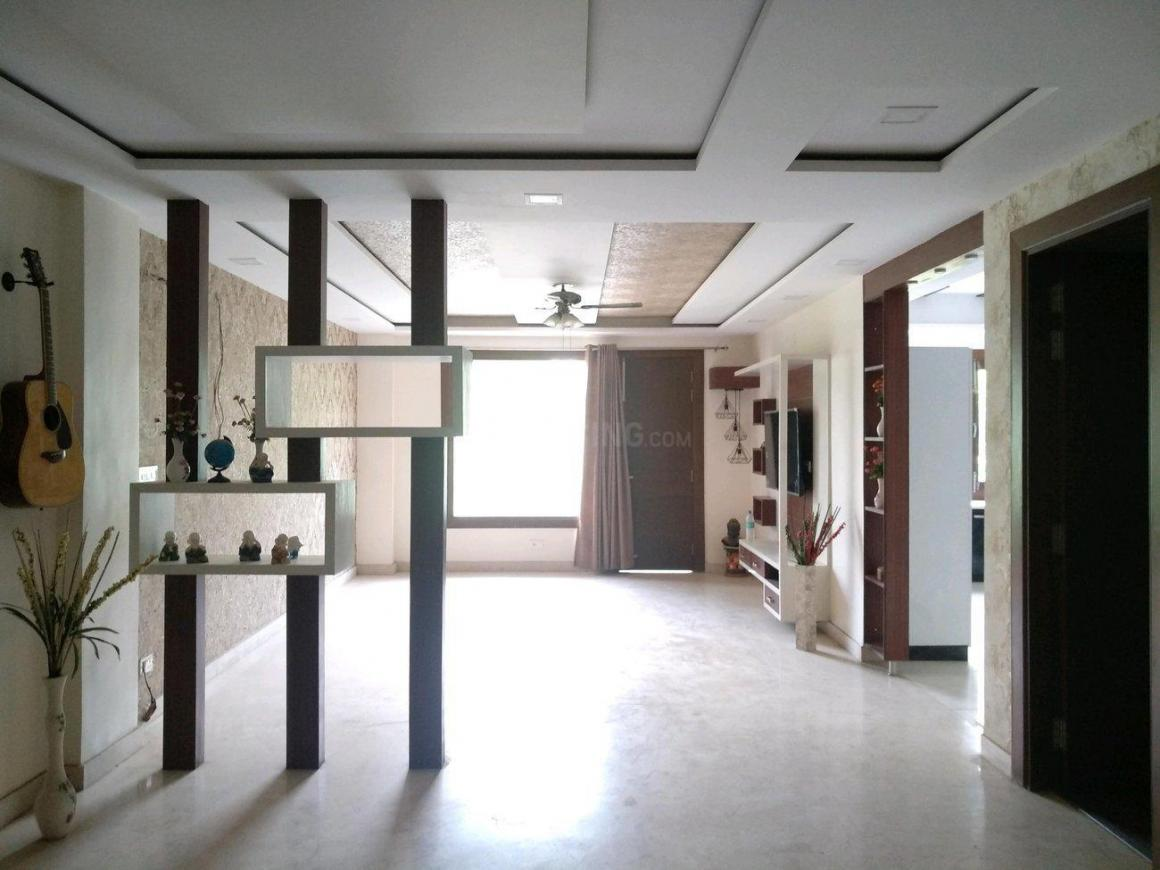 Living Room Image of 3000 Sq.ft 4 BHK Independent Floor for rent in Sushant Lok I for 60000