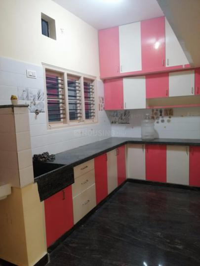 Kitchen Image of 990 Sq.ft 3 BHK Independent House for rent in Nakshtra Nilayam by Reputed Builder, Battarahalli for 18000