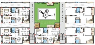 Gallery Cover Image of 1128 Sq.ft 2 BHK Apartment for buy in Nikhila Vivanta Pride, Mokila for 4750000