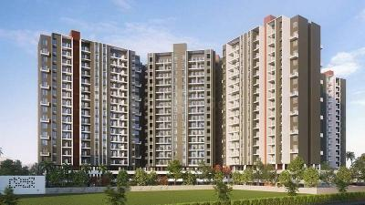 Gallery Cover Image of 891 Sq.ft 2 BHK Apartment for buy in Tulip Infinity Planet C And D Wing, Moshi for 3700000