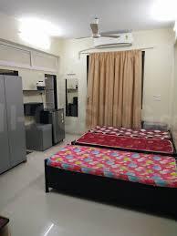 ठाणे वेस्ट में किरण पीजी के बेडरूम की तस्वीर
