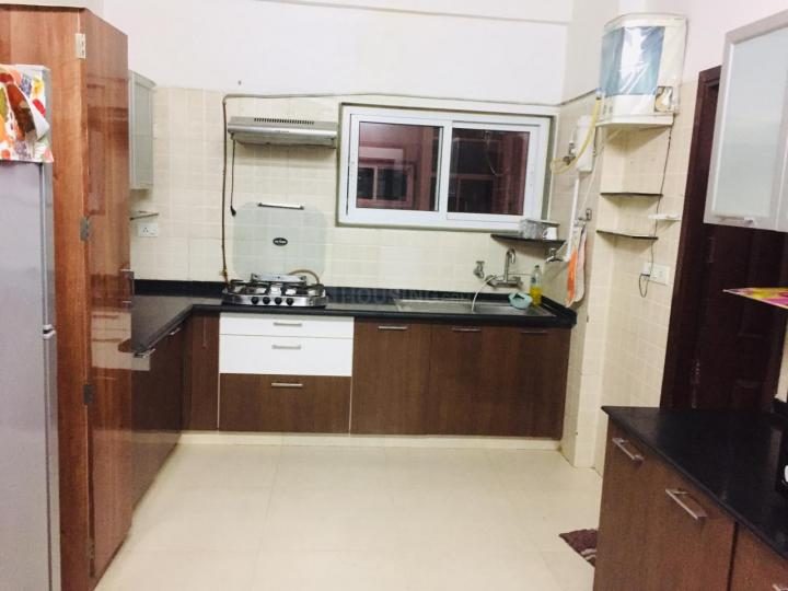 Kitchen Image of 1800 Sq.ft 3 BHK Apartment for buy in Bodakdev for 12500000