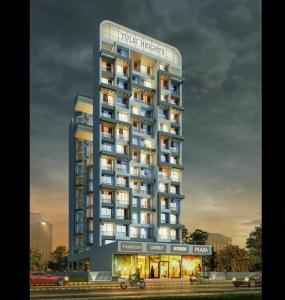 Gallery Cover Image of 725 Sq.ft 1 BHK Apartment for buy in Gurukrupa Tulsi Heights, Ulwe for 6000000