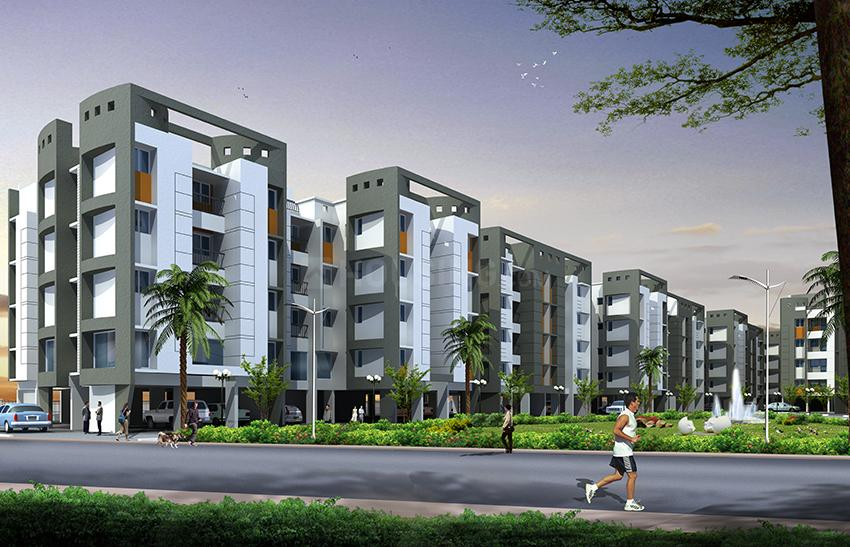Building Image of 860 Sq.ft 2 BHK Apartment for buy in Chembarambakkam for 2990000