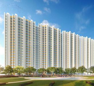 Gallery Cover Image of 525 Sq.ft 1 BHK Apartment for buy in Poddar Riviera Phase III, Ulhasnagar for 3131678