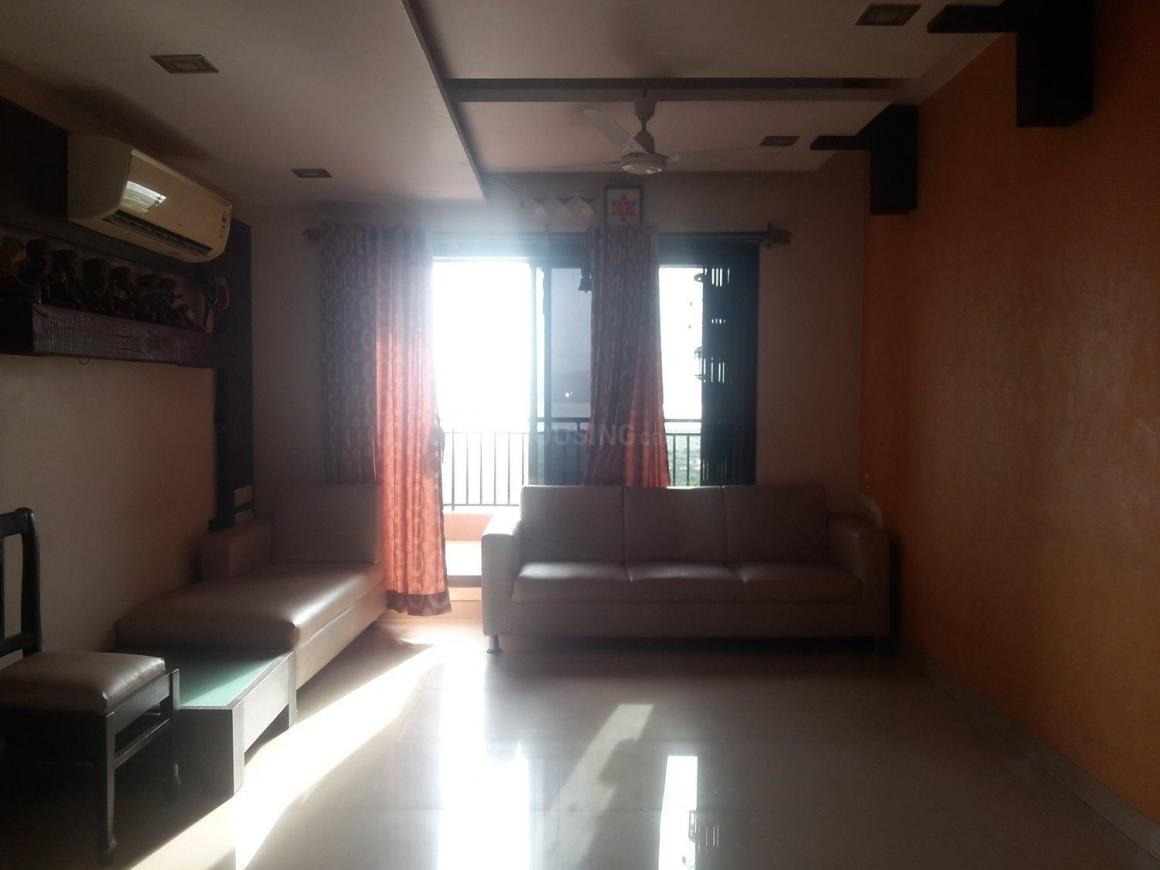 Living Room Image of 1500 Sq.ft 3 BHK Apartment for rent in Nerul for 66000