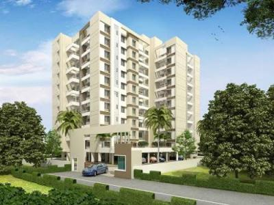 Gallery Cover Image of 658 Sq.ft 1 BHK Apartment for buy in The Riverside, Bhugaon for 3000000