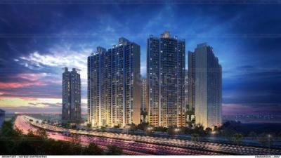 Gallery Cover Image of 484 Sq.ft 1 BHK Apartment for buy in Raymond Ten X Habitat Raymond Realty Tower J, Thane West for 7300000