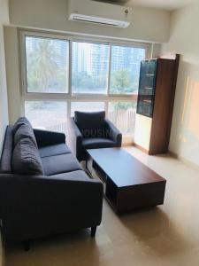 Gallery Cover Image of 600 Sq.ft 1 BHK Apartment for rent in Godrej The Trees, Vikhroli East for 45000