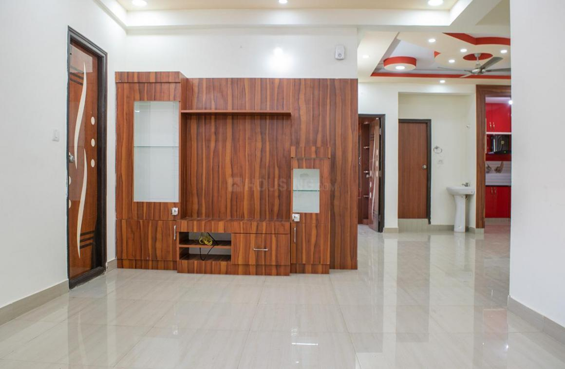 Living Room Image of 1408 Sq.ft 3 BHK Apartment for rent in Whitefield for 28000