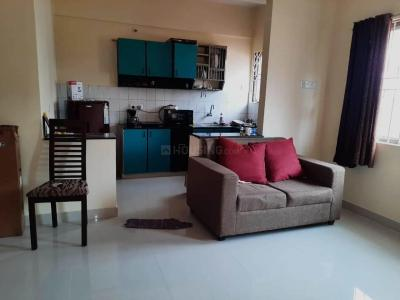 Gallery Cover Image of 1200 Sq.ft 2 BHK Apartment for rent in Domlur Layout for 43000