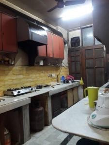 Kitchen Image of Kumar PG in Najafgarh Road Industrial Area