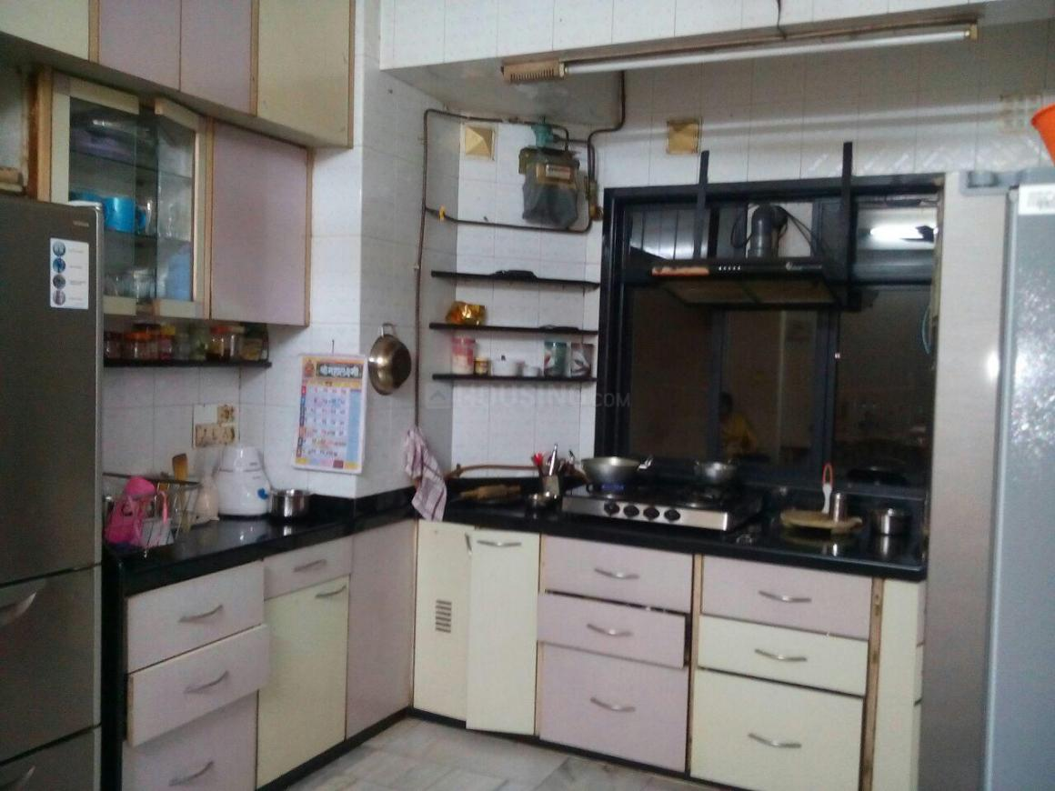 Kitchen Image of 1000 Sq.ft 2 BHK Apartment for rent in Thane West for 27000