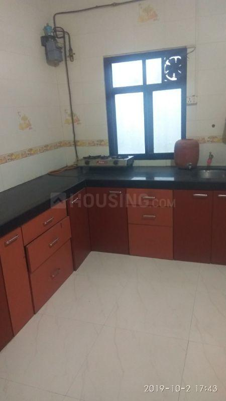 Kitchen Image of 650 Sq.ft 1 BHK Apartment for rent in Kanjurmarg East for 23000