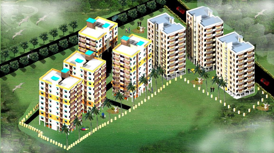 Building Image of 925 Sq.ft 1 BHK Apartment for buy in Arrah Kalinagar for 1480000