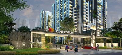Gallery Cover Image of 1170 Sq.ft 2 BHK Apartment for buy in Candeur 40, Miyapur for 7500000