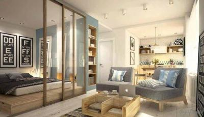 Gallery Cover Image of 564 Sq.ft 1 BHK Apartment for buy in Marathon Neo Square, Bhandup West for 7000000