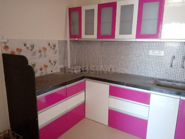 Kitchen Image of 600 Sq.ft 1 BHK Apartment for rent in Undri for 14000