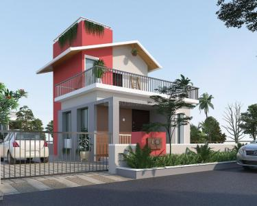 Gallery Cover Image of 870 Sq.ft 2 BHK Villa for buy in Kherdi for 2000000