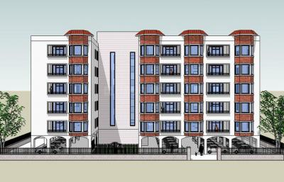 Gallery Cover Image of 900 Sq.ft 2 BHK Apartment for buy in Mondal Para for 4800000