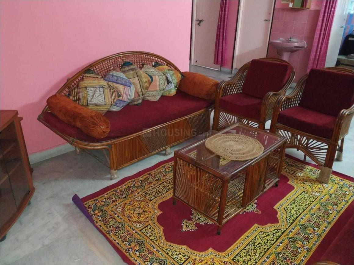 Living Room Image of 1050 Sq.ft 2 BHK Apartment for rent in Keshtopur for 17000